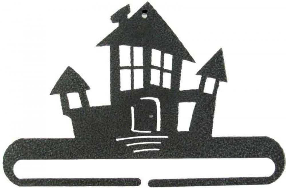 6 inch Haunted House split bottom