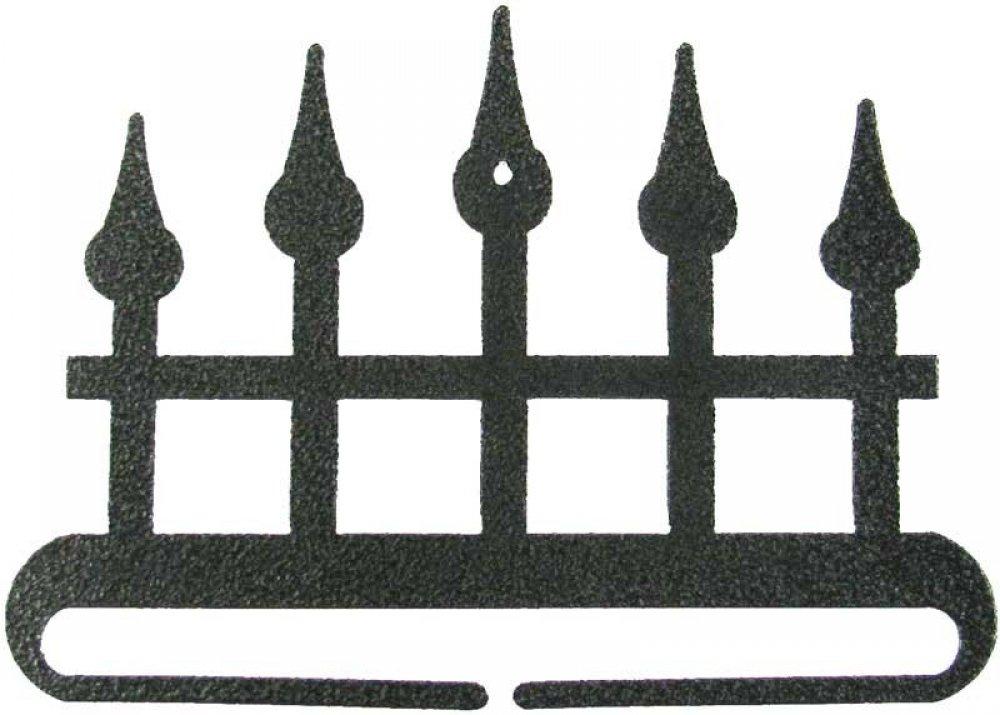 6 inch Iron Fence split bottom