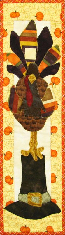 MM611 Turkey Perch - Pattern with FABRIC KIT