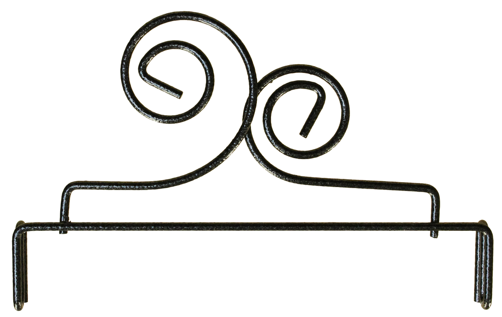 6 inch Double Scroll Header