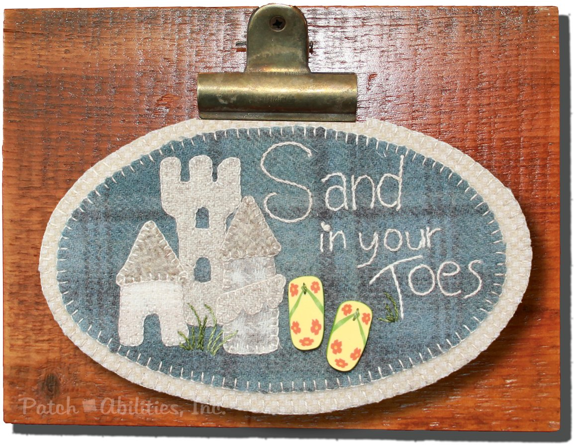 P213 Sand in Your Toes Mini Round (June)