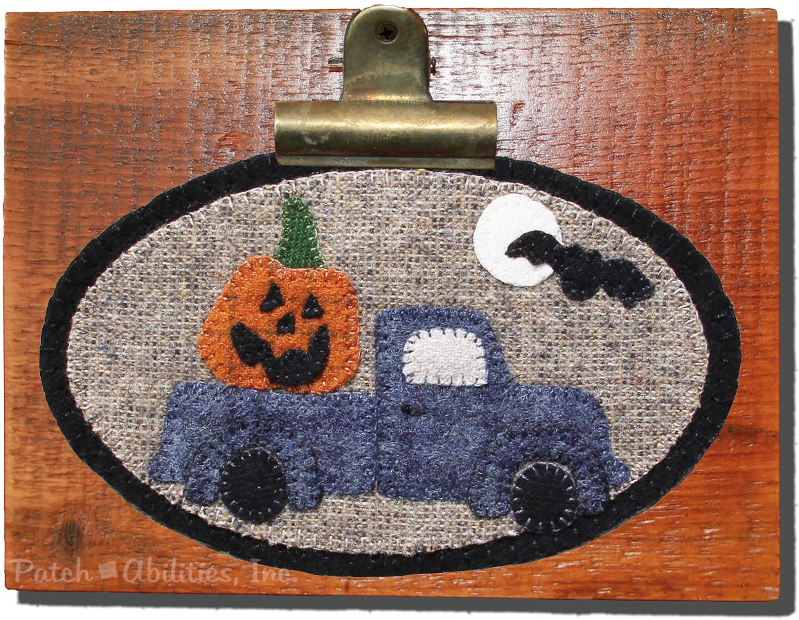 P219 Jack in the Little Blue Truck Mini Round (October)