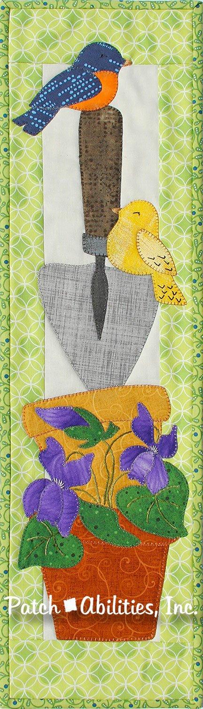 P233 Birds 'n Spring Violets