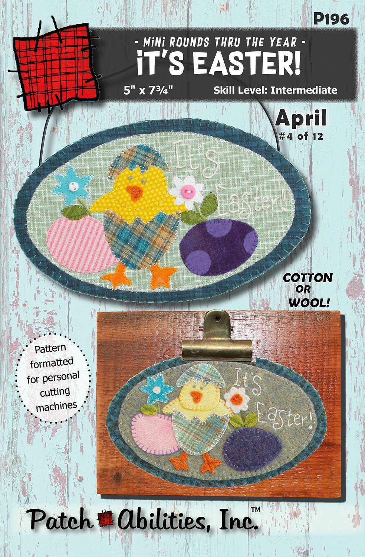 P196 It's Easter Cheep! Cheep! Mini Round (April)