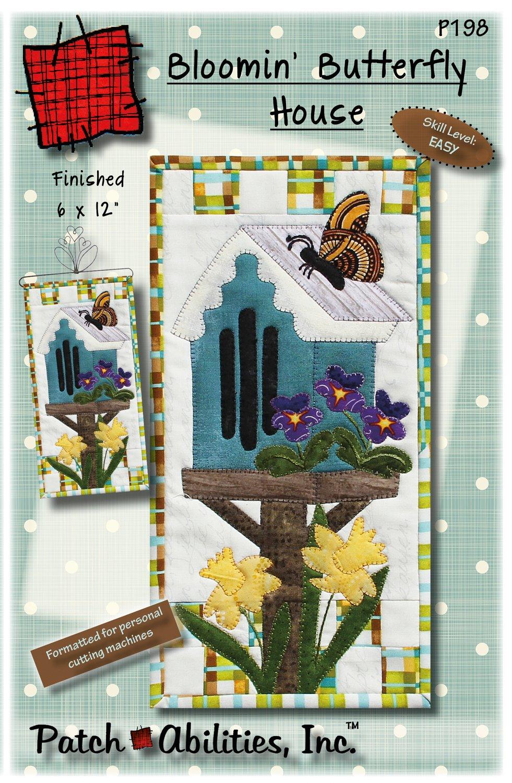 P198 Bloomin' Butterfly Pattern
