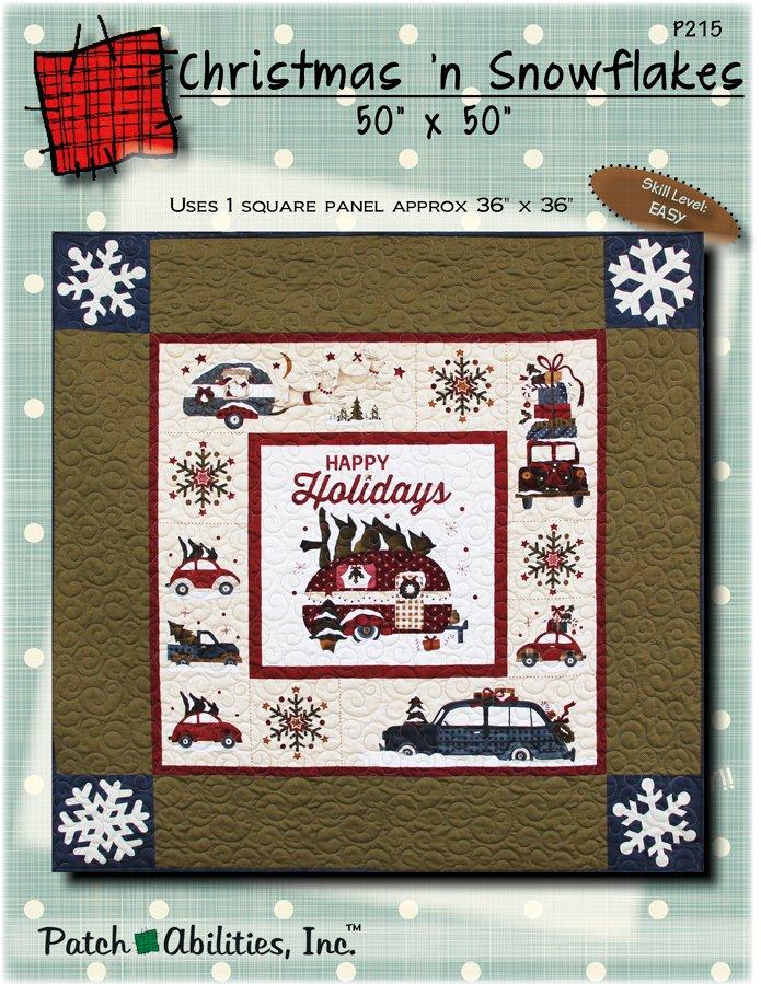 P215 Christmas n Snowflakes - DIGITAL DOWNLOAD