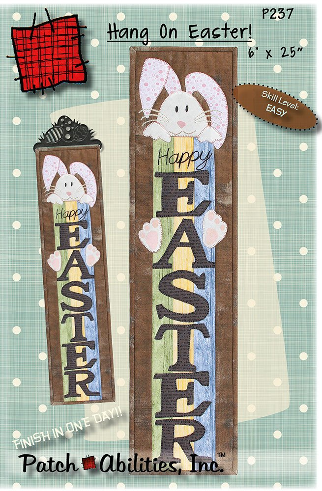 P237 Hang on Easter! DIGITAL DOWNLOAD PATTERN