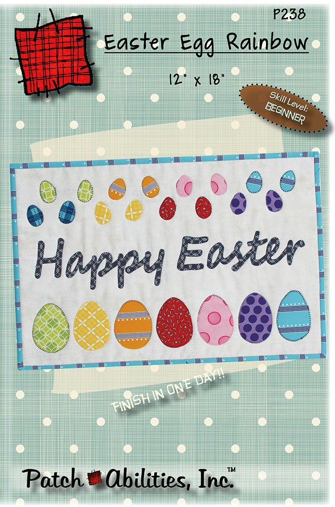 P238 Easter Egg Rainbow DIGITAL DOWNLOAD PATTERN