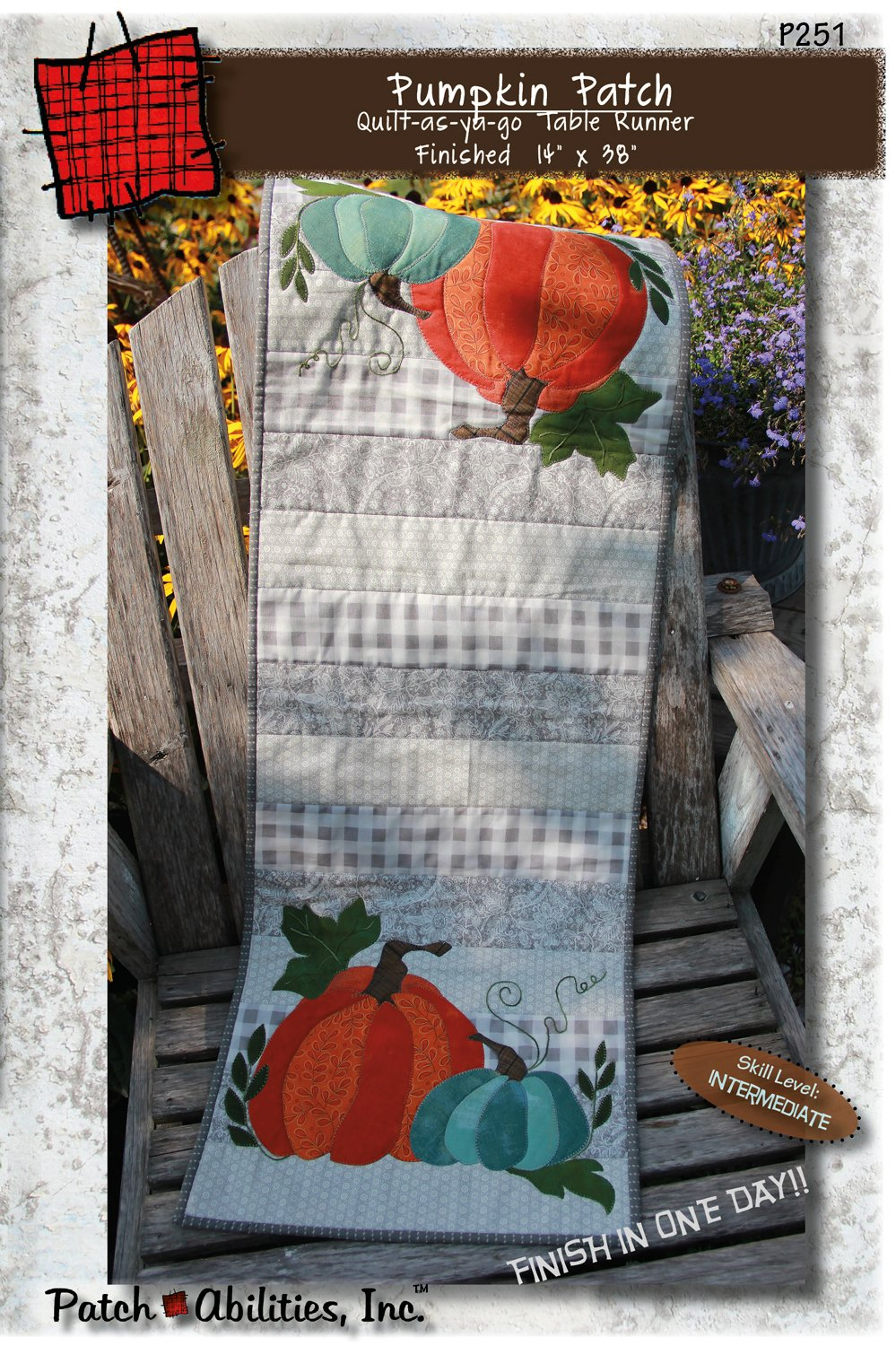 P251 Pumpkin Patch DIGITAL DOWNLOAD PATTERN