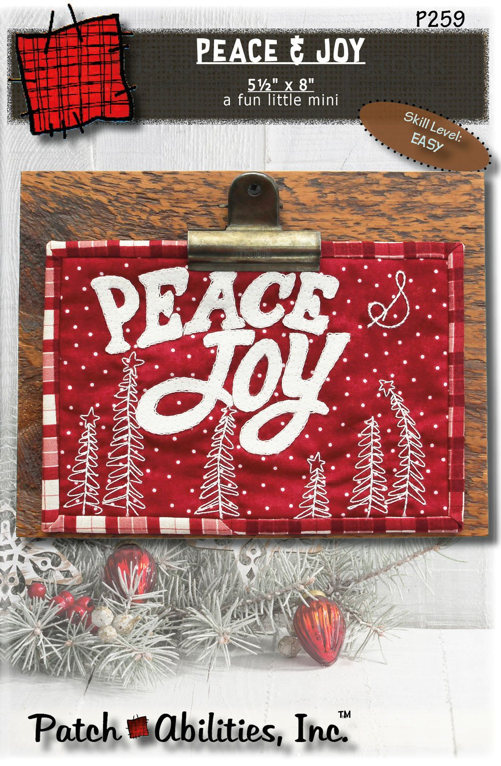 P259 Peace & Joy (a fun little mini)