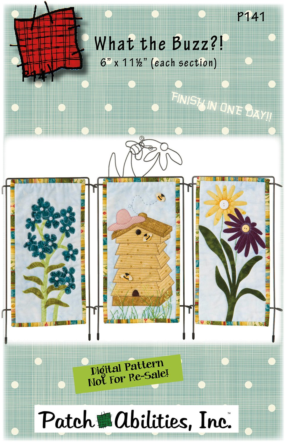 P141 What the Buzz?! DIGITAL DOWNLOAD PATTERN