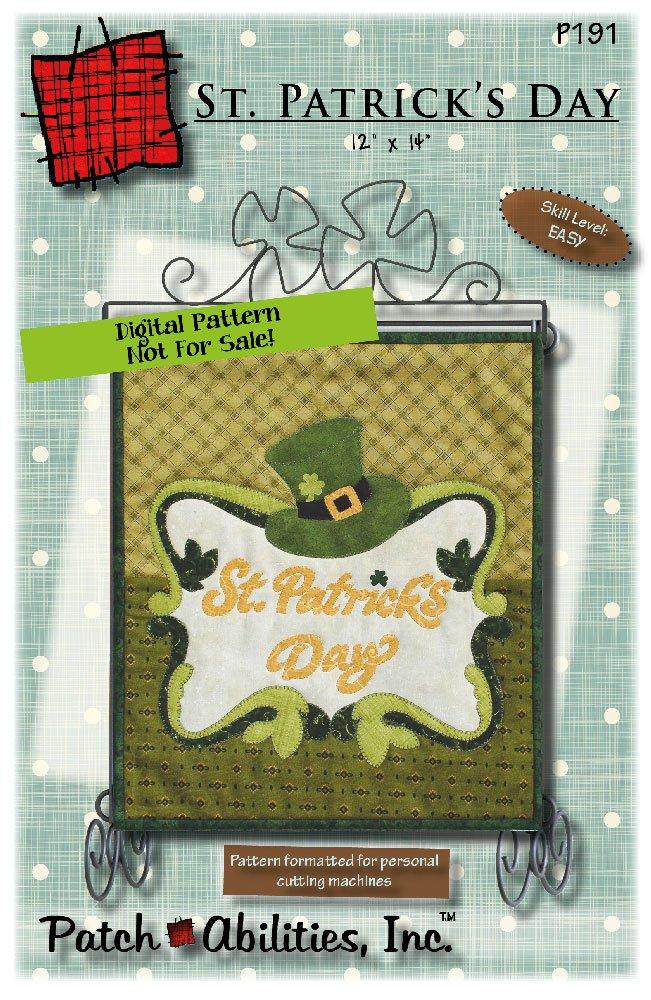 P191 - St. Patrick's Day DIGITAL DOWNLOAD PATTERN