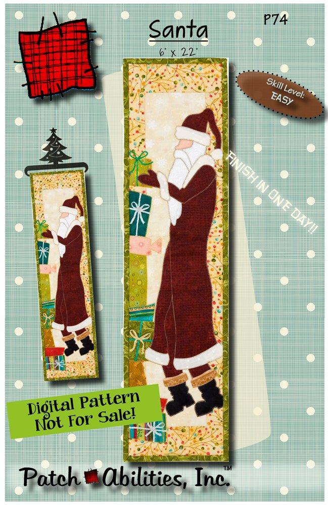P74 Santa - DIGITAL DOWNLOAD