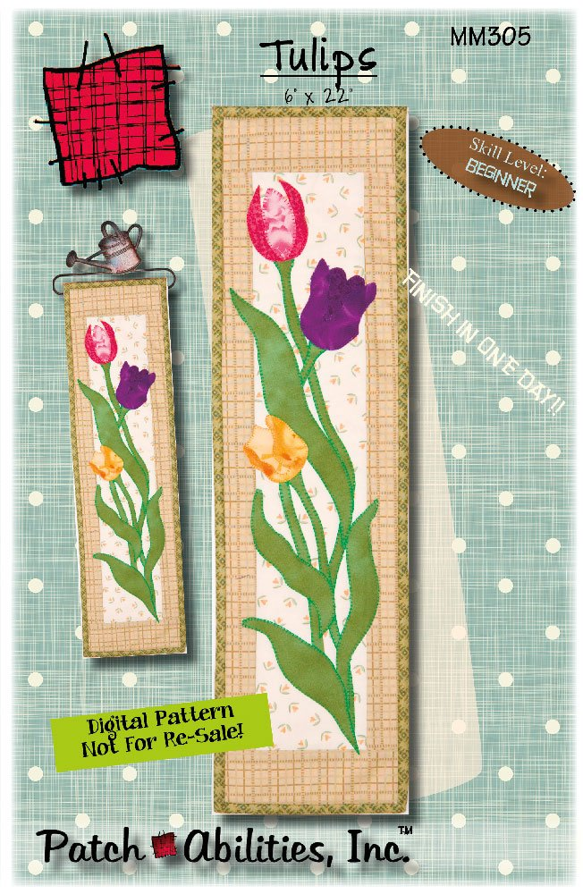 MM305 Tulips - DIGITAL DOWNLOAD PATTERN