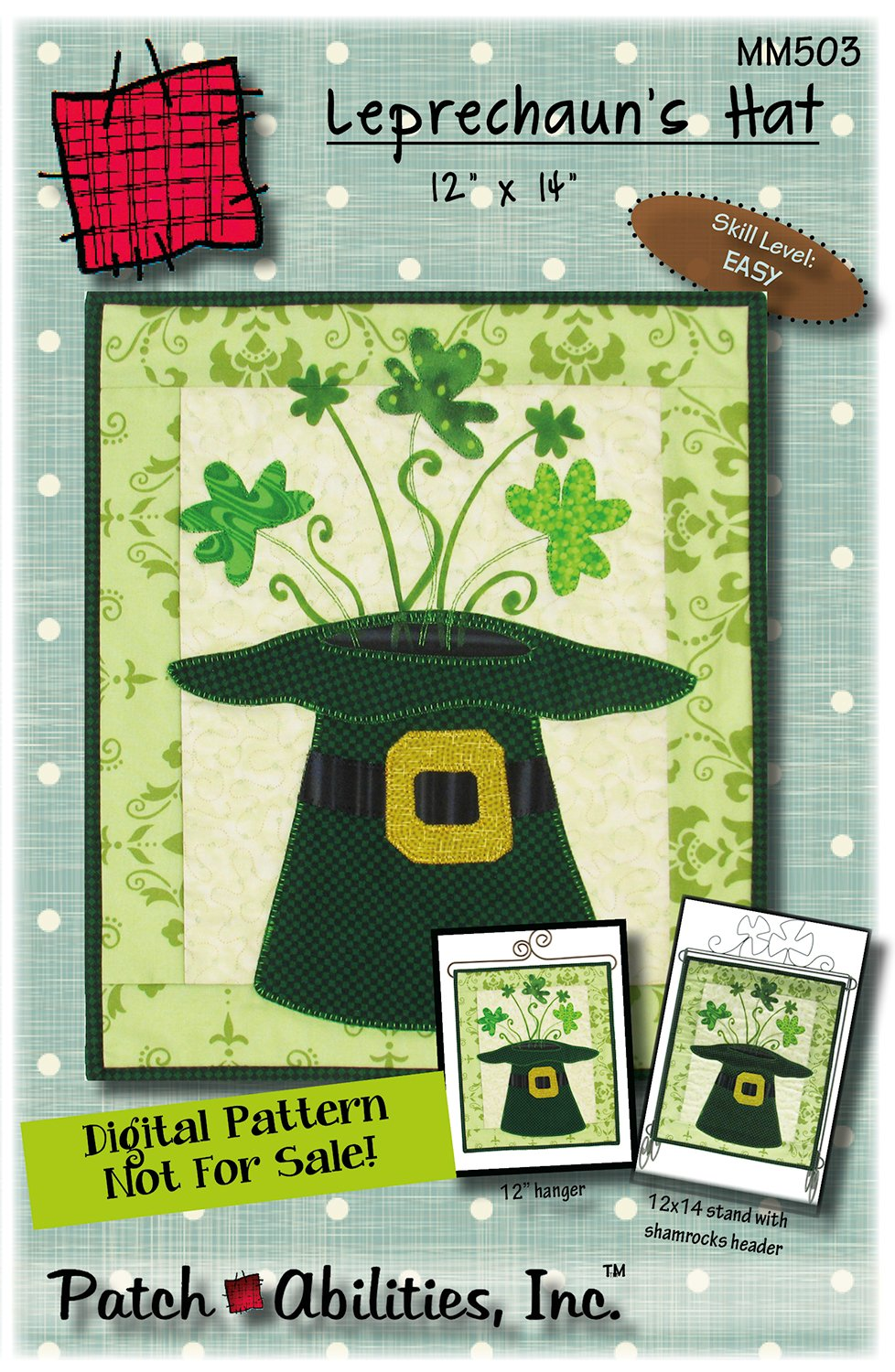 MM503 Leprechaun Hat - DIGITAL DOWNLOAD