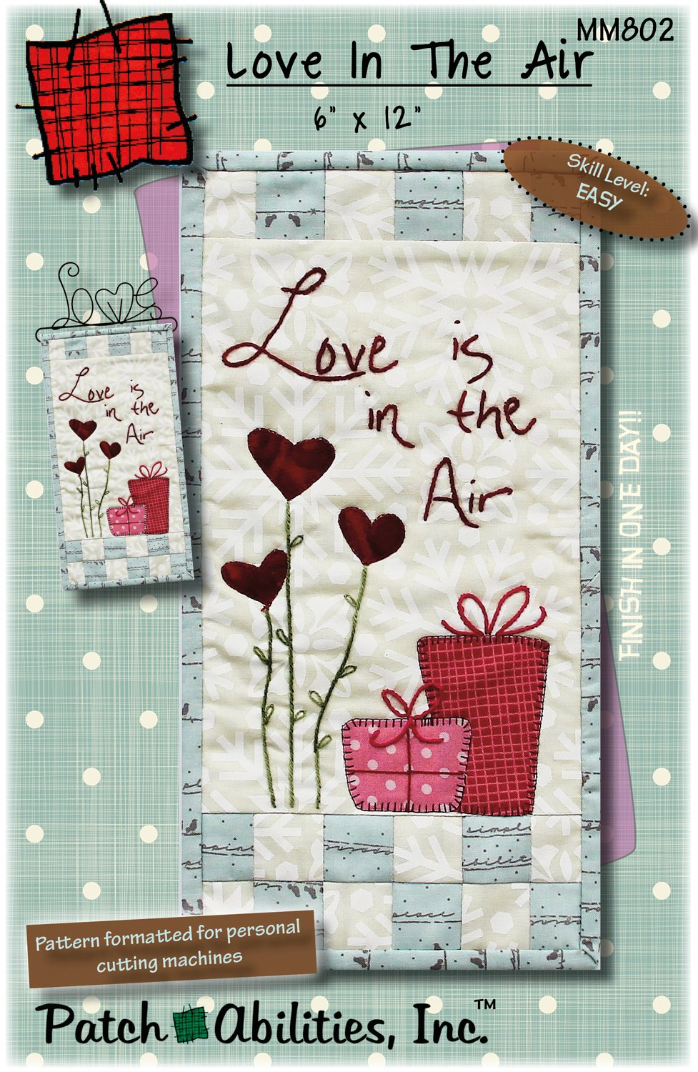 MM802 Love in the Air - DIGITAL DOWNLOAD PATTERN