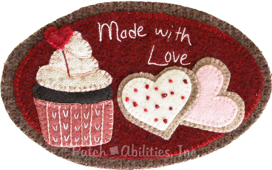 P187 Made With Love Mini Round (February)