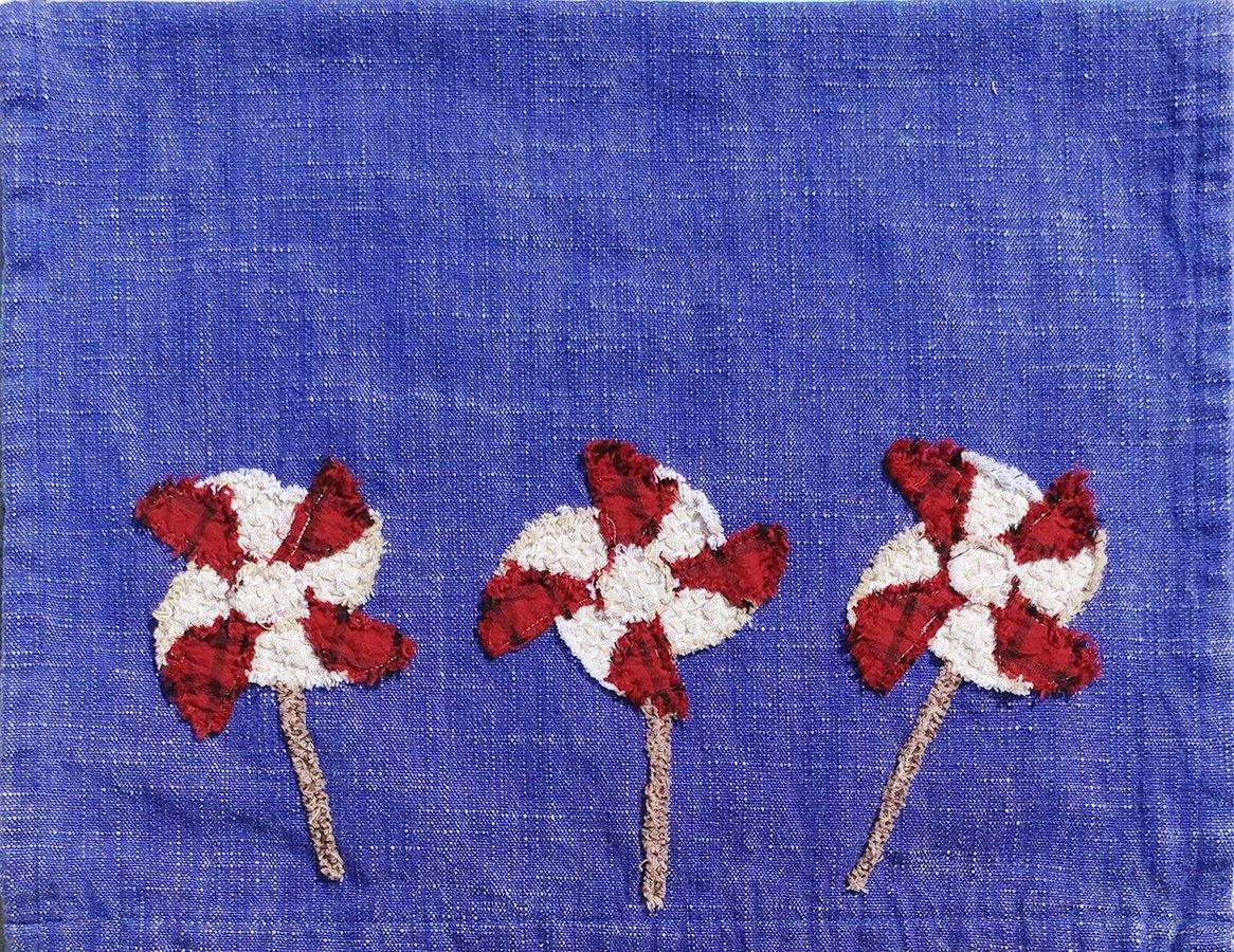 Pinwheels Towel- Finished Model