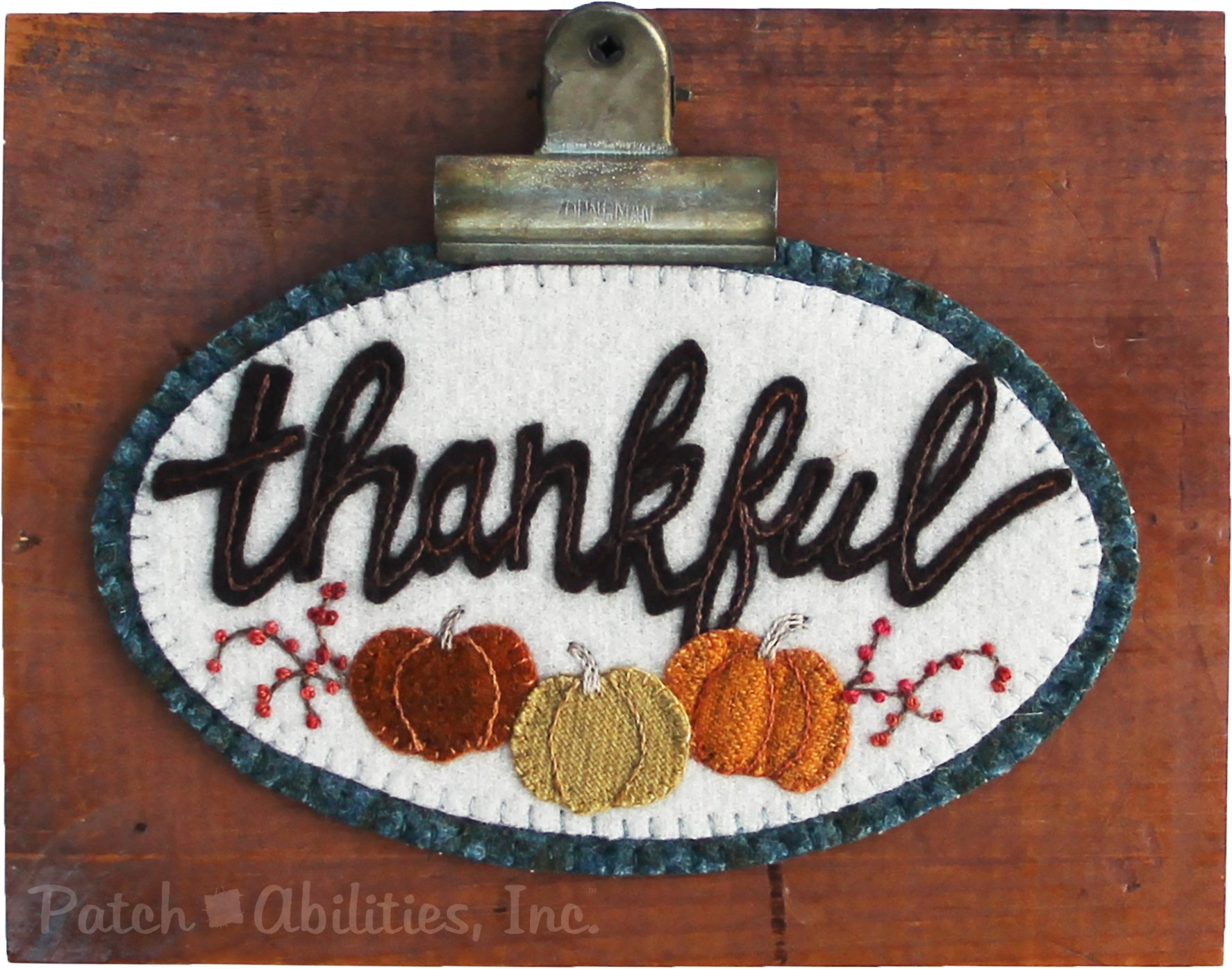 P224 Thankful Mini Round (November)