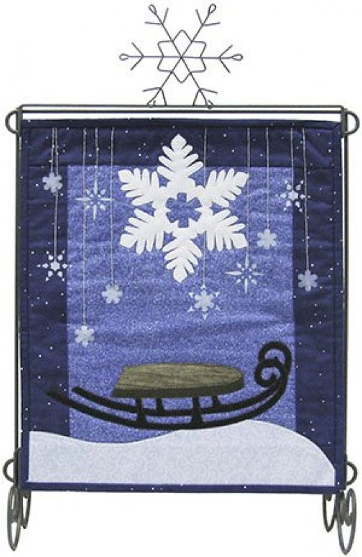MM501 Sledding with Flakes- Pattern and Fabric Kit