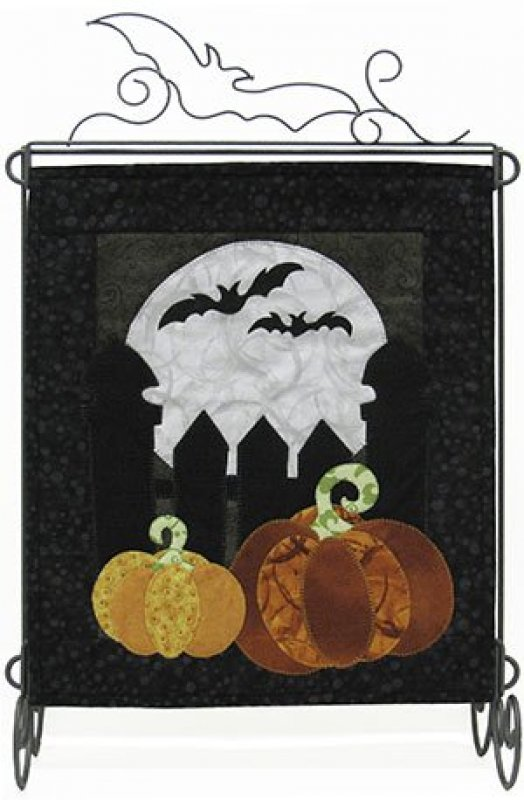 MM510 Pumpkin in the Moonlight- Pattern with Fabric Kit