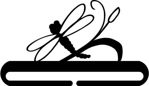 6 inch Dragonfly split bottom