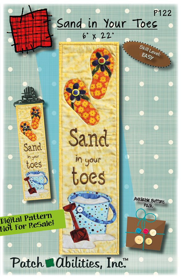 P122 Sand in your Toes - DIGITAL DOWNLOAD