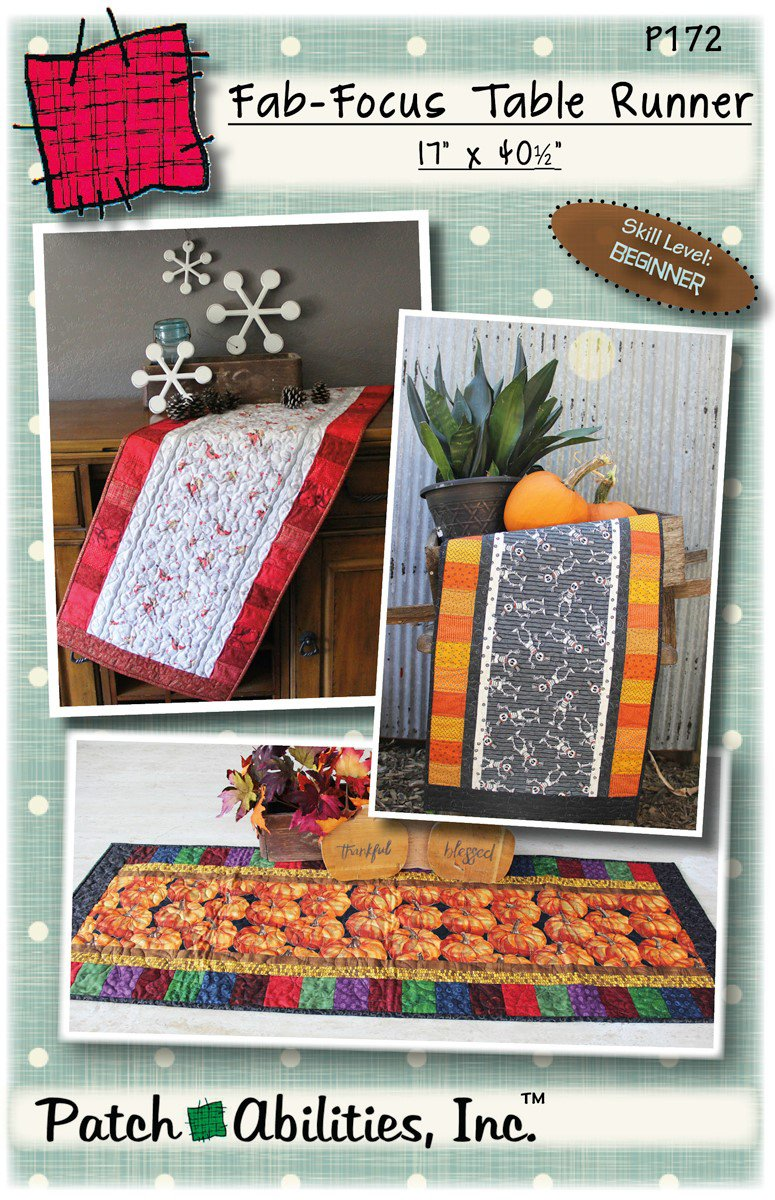 P172 Fab-Focus Table Runner
