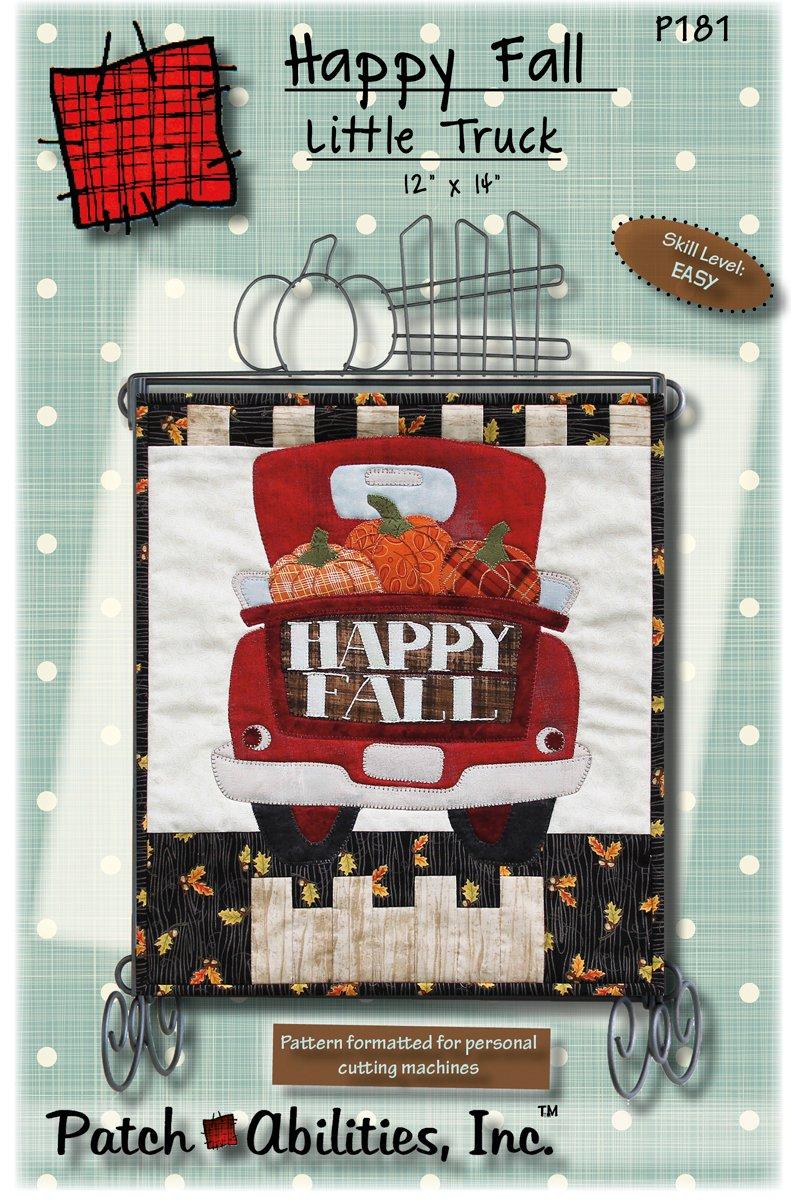 P181 Happy Fall Little Truck