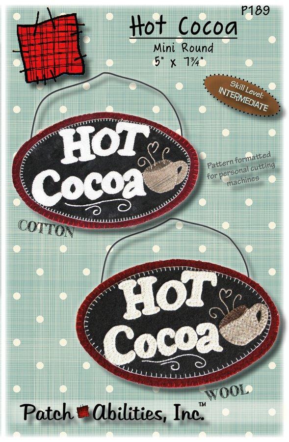 P189 Hot Cocoa Mini Round Pattern