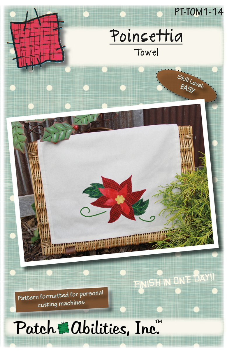 PT-TOM1-14 Poinsettia Towel