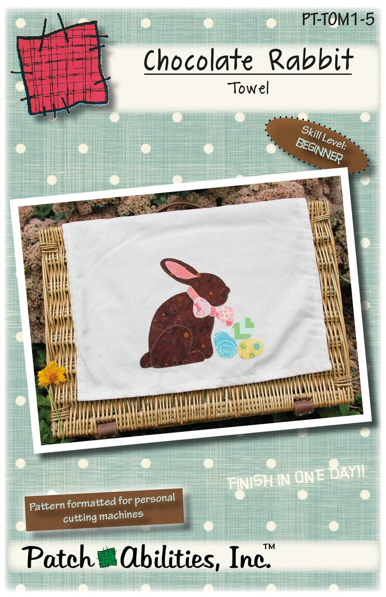 PT-TOM1-5 Chocolate Rabbit Towel