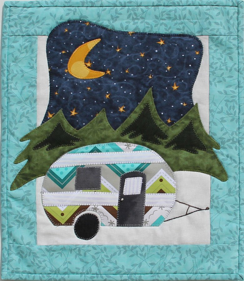 P151 Little Camper - DIGITAL DOWNLOAD PATTERN