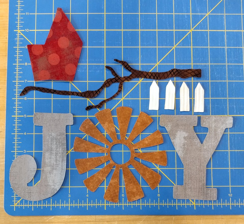 JOY, Branch, Picket Fence Precut Set