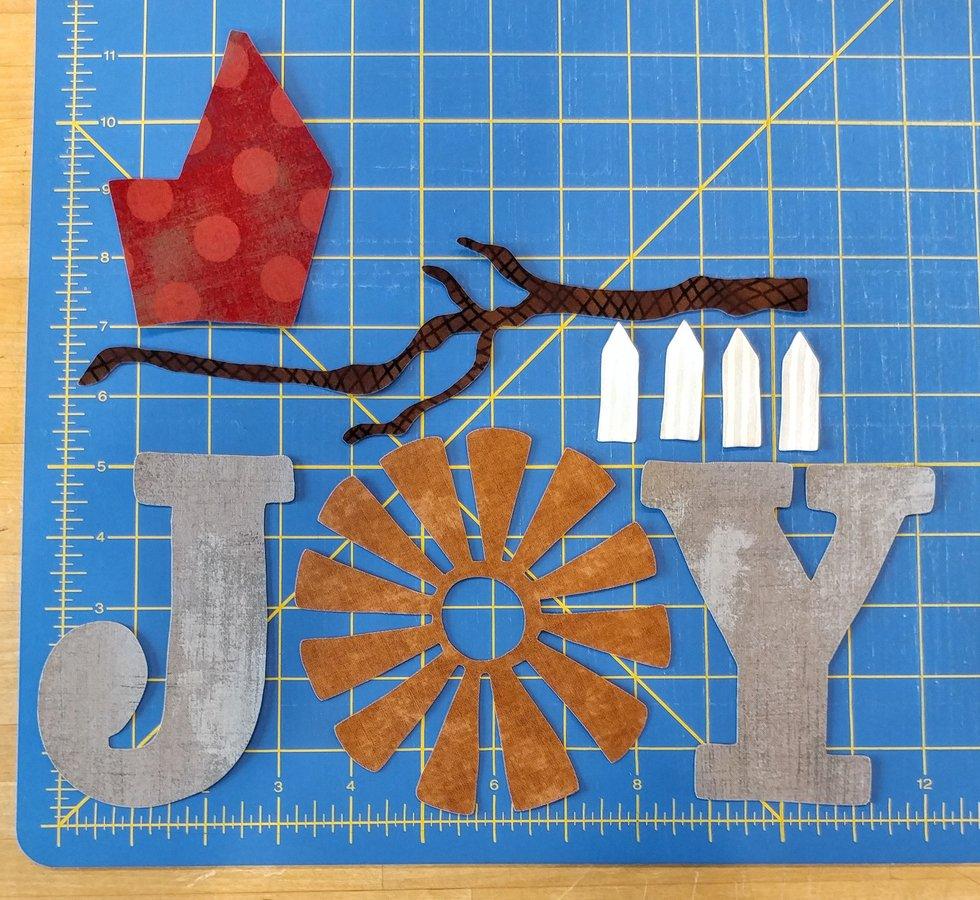 JOY, Branch, Picket Fence Precut Set