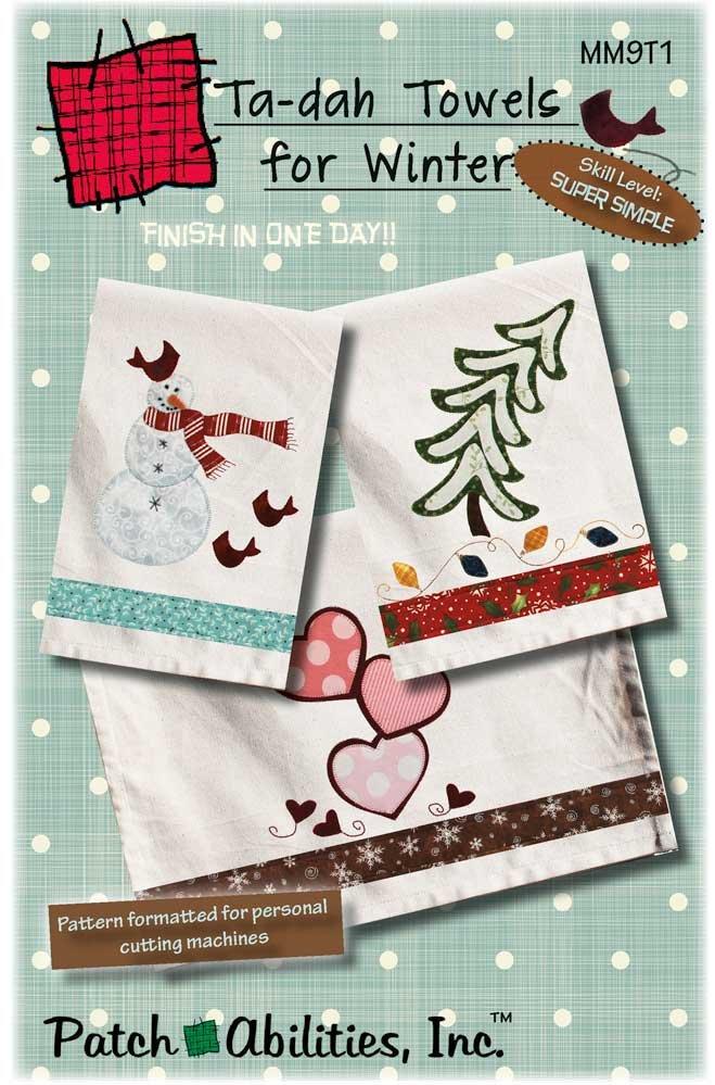 MM9T1 Ta-dah Towels for Winter