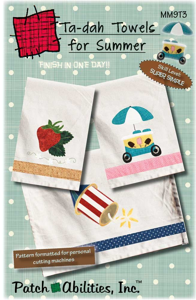 MM9T3 Ta-dah Towels for Summer