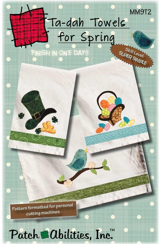 Ta-dah Towel Bundle With Buttons- All 12 Designs!