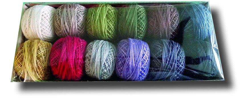 Essentials #1 Perle Cotton Thread Collection