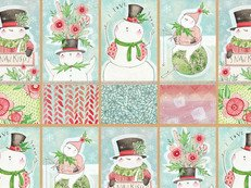 Merry and Bright Panel Large by Cori Dantini 112.124.01.1
