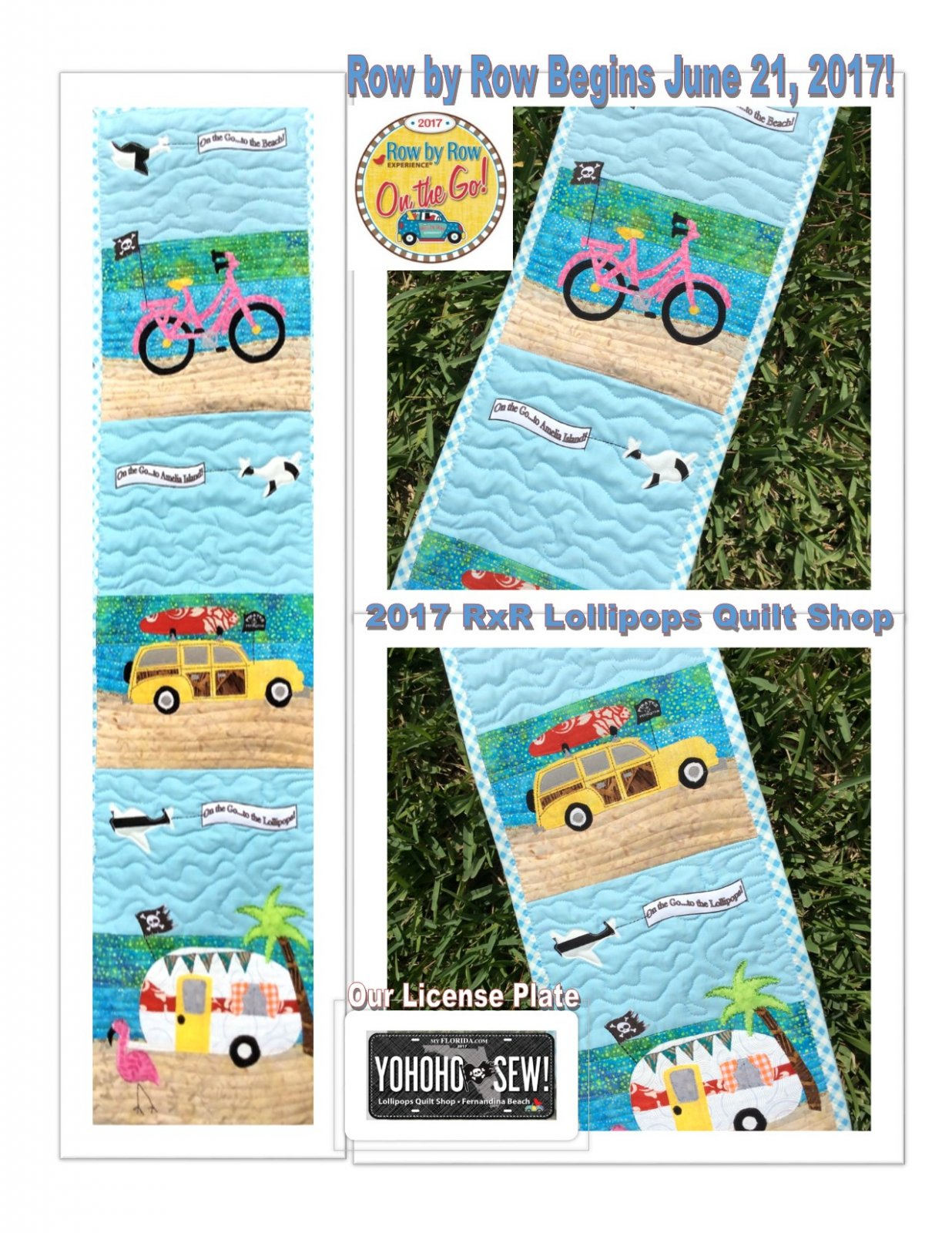 Lollipops Quilt Shop Row by Row Kits