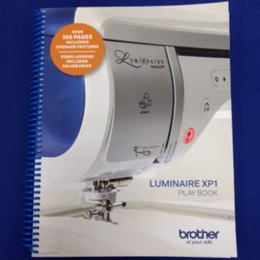 Brother Luminaire XP-1 Play Book w/ Video