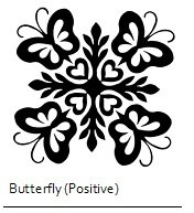 2 for 1 HI Applique Precut Butterflys