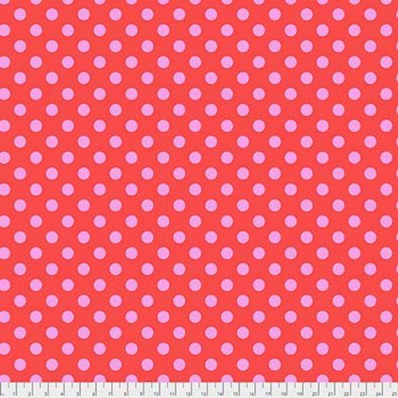 PWTP118.POPPY Pom Poms - Poppy Tula Pink