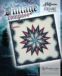 QUILTWORX - Vintage Compass