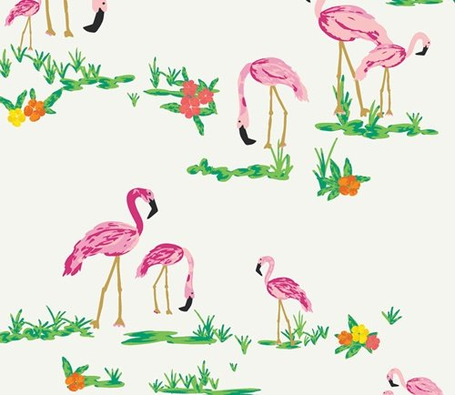 AGF  Flamingo Field Pearl from WEST PALM designed by Katie Skoog