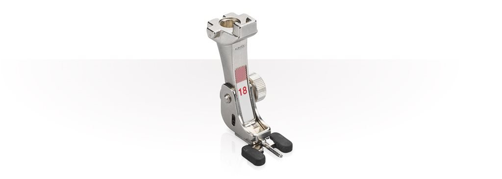 Bernina #18 Button Foot (with adjustable pin)