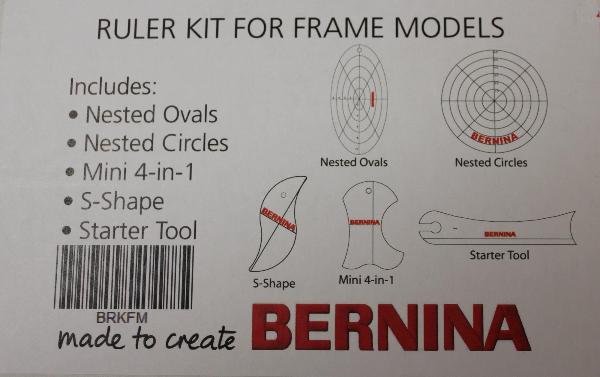 Bernina Ruler Kit for Frame Models