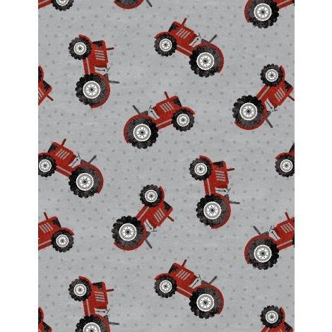 Tractor Toss Medium Gray