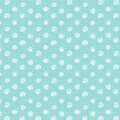 Textured Dots Turquoise
